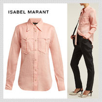 Isabel Marant Long Sleeves Plain Shirts & Blouses