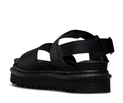 Unisex Street Style Leather Shower Shoes Sandals
