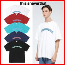 thisisneverthat Street Style Cotton T-Shirts