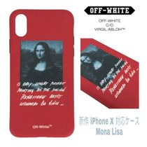 Off-White Unisex Smart Phone Cases