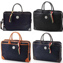 OROBIANCO Nylon A4 2WAY Plain Business & Briefcases