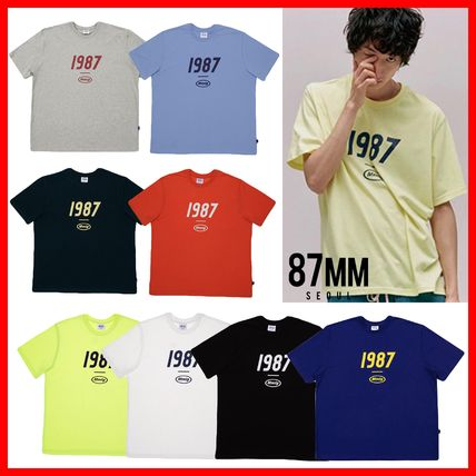 87MM More T-Shirts Unisex Street Style Cotton T-Shirts