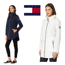 Tommy Hilfiger Casual Style Street Style Plain Trench Coats