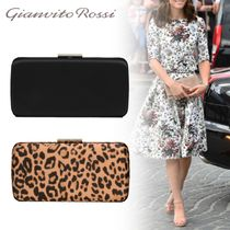 Gianvito Rossi 2WAY Elegant Style Clutches