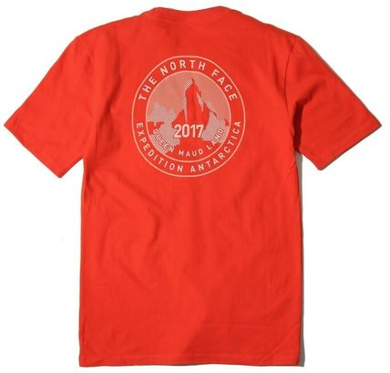 THE NORTH FACE More T-Shirts Unisex Street Style U-Neck Cotton T-Shirts 6