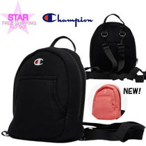 CHAMPION Casual Style Canvas 2WAY Plain Backpacks