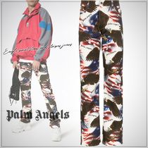 Palm Angels Printed Pants Street Style Cotton Patterned Pants