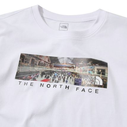 THE NORTH FACE More T-Shirts Unisex Street Style U-Neck Cotton T-Shirts 2