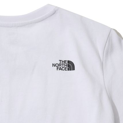 THE NORTH FACE More T-Shirts Unisex Street Style U-Neck Cotton T-Shirts 4
