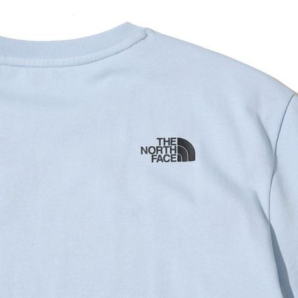 THE NORTH FACE More T-Shirts Unisex Street Style U-Neck Cotton T-Shirts 11