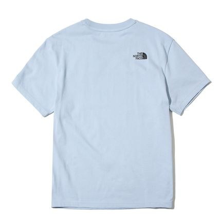THE NORTH FACE More T-Shirts Unisex Street Style U-Neck Cotton T-Shirts 13