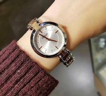 Fossil Round Quartz Watches Stainless Elegant Style Analog Watches