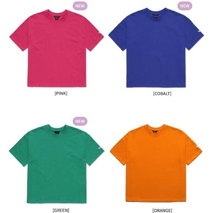 WV PROJECT More T-Shirts Pullovers Unisex Street Style Plain Cotton Short Sleeves 2