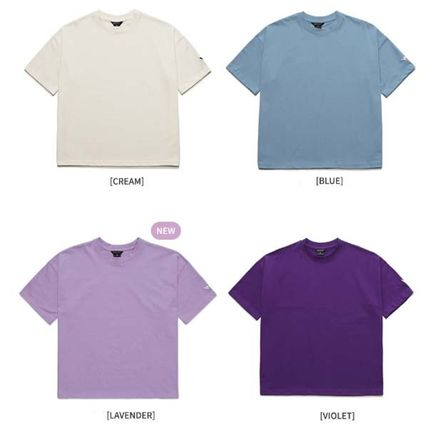 WV PROJECT More T-Shirts Pullovers Unisex Street Style Plain Cotton Short Sleeves 3
