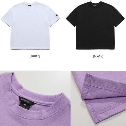 WV PROJECT More T-Shirts Pullovers Unisex Street Style Plain Cotton Short Sleeves 4