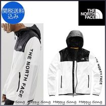 THE NORTH FACE Unisex Street Style Bi-color Windbreaker Jackets