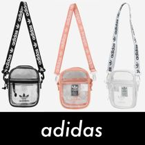 adidas Street Style PVC Clothing Shoulder Bags