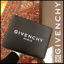 GIVENCHY Calfskin Street Style A4 Clutches