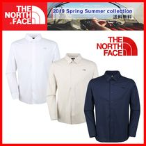 THE NORTH FACE Casual Style Unisex Street Style Shirts & Blouses