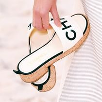 CHANEL Elegant Style Slippers Sandals