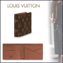 Louis Vuitton MONOGRAM Monogram Unisex Canvas Blended Fabrics Street Style Bi-color
