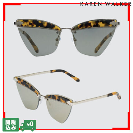 Unisex Street Style Cat Eye Glasses Sunglasses