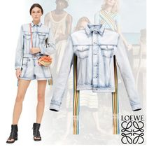 LOEWE Short Stripes Plain Jackets