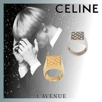 CELINE Unisex Street Style Other Animal Patterns Rings