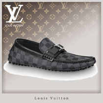 Louis Vuitton DAMIER Driving Shoes Loafers & Slip-ons