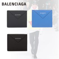 BALENCIAGA Calfskin Folding Wallets