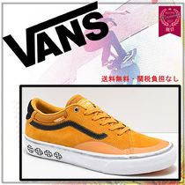 VANS Unisex Suede Street Style Collaboration Oversized Sneakers