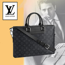 Louis Vuitton MONOGRAM A4 2WAY Leather Business & Briefcases