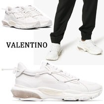 VALENTINO Blended Fabrics Street Style Sneakers