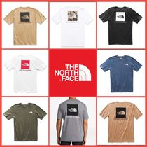 THE NORTH FACE Crew Neck Unisex Street Style Short Sleeves