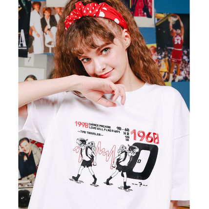 WV PROJECT More T-Shirts Unisex Street Style Short Sleeves Oversized T-Shirts 3