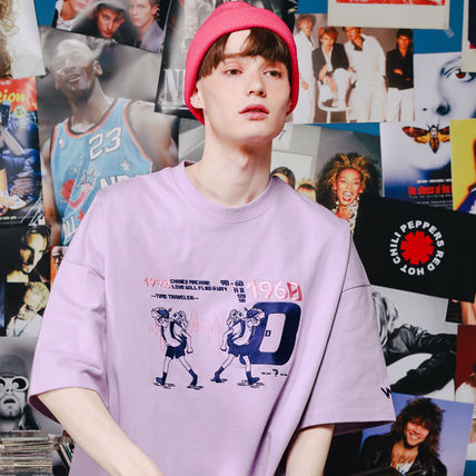WV PROJECT More T-Shirts Unisex Street Style Short Sleeves Oversized T-Shirts 8