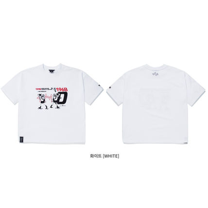 WV PROJECT More T-Shirts Unisex Street Style Short Sleeves Oversized T-Shirts 12