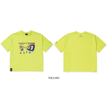 WV PROJECT More T-Shirts Unisex Street Style Short Sleeves Oversized T-Shirts 16