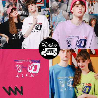 WV PROJECT More T-Shirts Unisex Street Style Short Sleeves Oversized T-Shirts