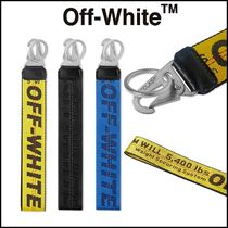Off-White Unisex Street Style Keychains & Holders