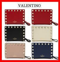 VALENTINO Street Style Folding Wallets