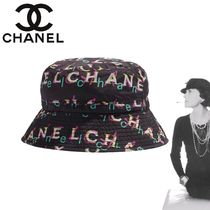 CHANEL Unisex Street Style Bucket Hats Keychains & Bag Charms