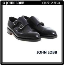 John Lobb WILLIAM Straight Tip Monk Leather Loafers & Slip-ons