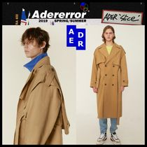 ADERERROR Unisex Street Style Trench Coats