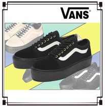 VANS Other Check Patterns Unisex Suede Blended Fabrics