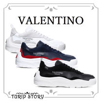 VALENTINO Blended Fabrics Sneakers