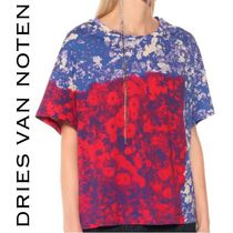 Dries Van Noten Flower Patterns Tropical Patterns Casual Style Collaboration