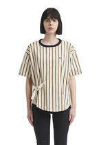 FRED PERRY Stripes Street Style Cotton Short Sleeves Shirts & Blouses