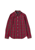 FRED PERRY Tartan Street Style Long Sleeves Cotton Shirts & Blouses
