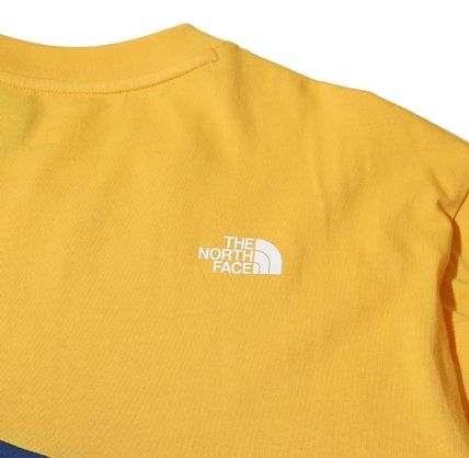 THE NORTH FACE More T-Shirts Unisex Street Style U-Neck Cotton T-Shirts 3